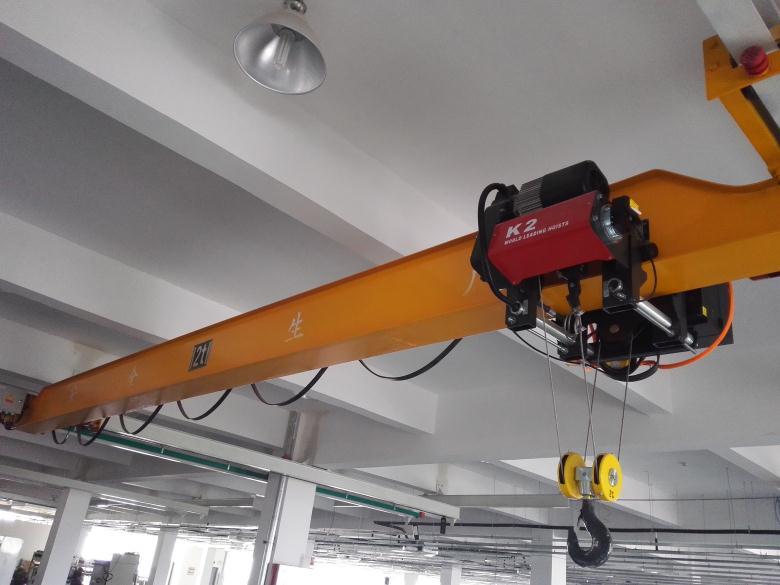 2t-13.5m欧式单梁起重机