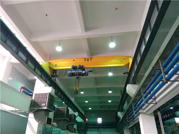 10t-6.6m电动单梁起重机
