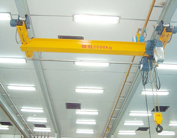 2.5t-6m电动单梁悬挂起重机